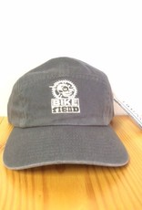 Ouray 5 Panel Dark Gray Bike Fiend Hat