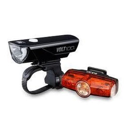 Cateye CATEYE Volt 100 Front Light + Rapid Mini Rear Light