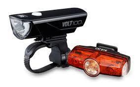 Cateye CATEYE Volt 100 Front Light + Rapid Mini Rear Light