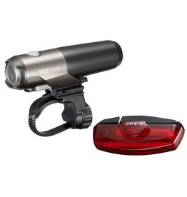 Cateye CATEYE Volt 300 Front Light + Rapid X Rear Light #P