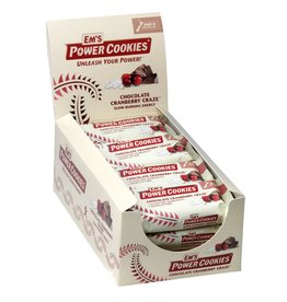 Em's Power Cookies EM'S Power Cookies Bar Chocolate Cranberry Craze box of 12