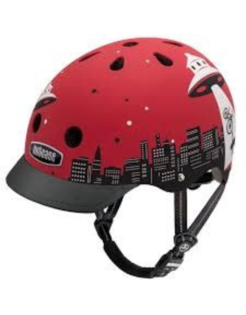 Nutcase Alien Abduction Matte Street Helmet M