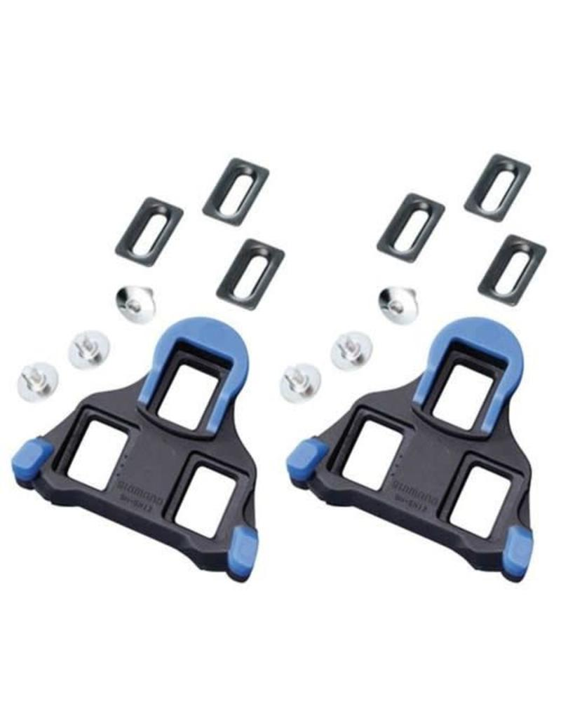 SHIMANO SHIMANO Cleat Set Blue SM-SH12 SPD-SL Front Centre Pivot