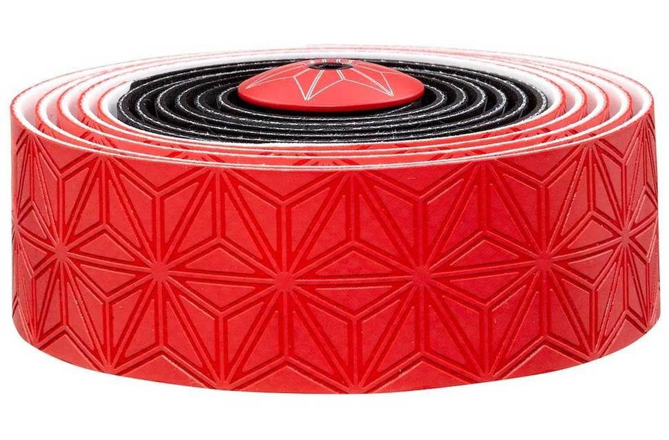 Supacaz Super Sticky Kush Bar Tape Red Black