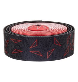 Supacaz Super Sticky Kush Bar Tape Neon Red Star Fade #P