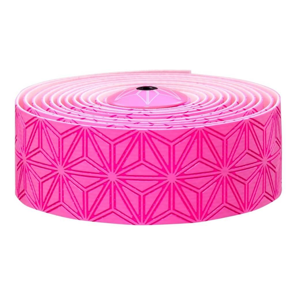 Supacaz Super Sticky Kush Bar Tape Neon Pink Print