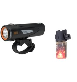 Light & Motion Light & Motion Combo Urban 500 USB Front Light Onyx and Vibe 50 Combo Set