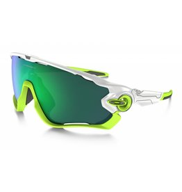 Oakley OAKLEY Jaw Breaker POLISHED White w/Jade Iridium #P