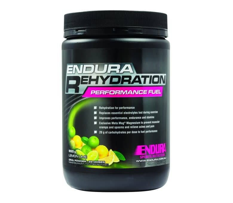 Endura ENDURA Rehydration 800 grams - LEMONLIME
