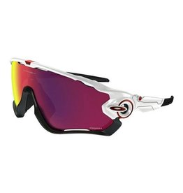 Oakley OAKLEY Jawbreaker polished white black/prizm road Road #P