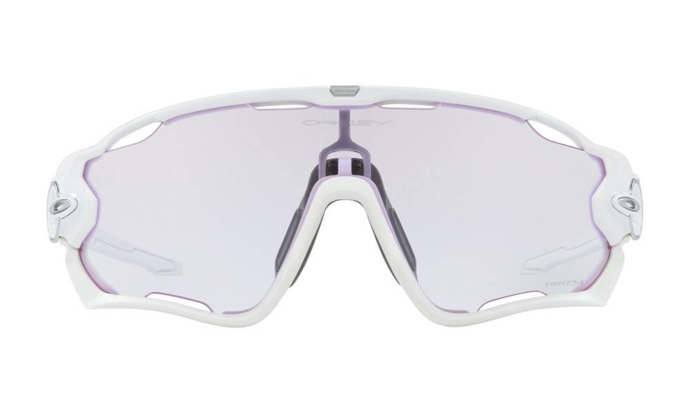 Oakley OAKLEY Jawbreaker Pol White w/ PRIZM Low Light Road