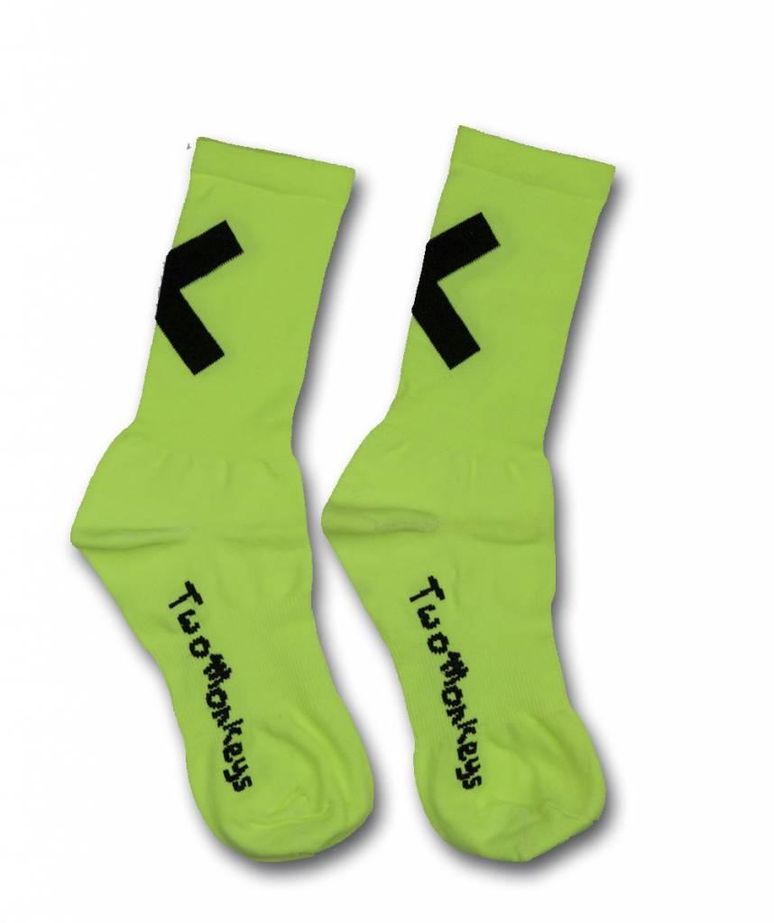 TWO MONKEYS X Socks Yellow