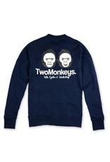 Two Monkeys Team Crew Jumper NAVY