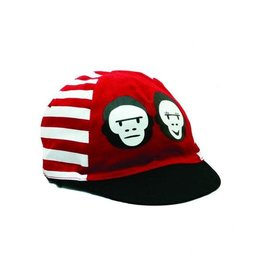 Two Monkeys Red Stripe Cap