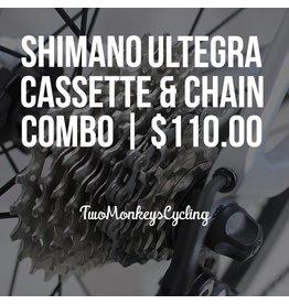 Shimano Ultegra chain and Ultegra R8000 cassette combo. 11-28.
