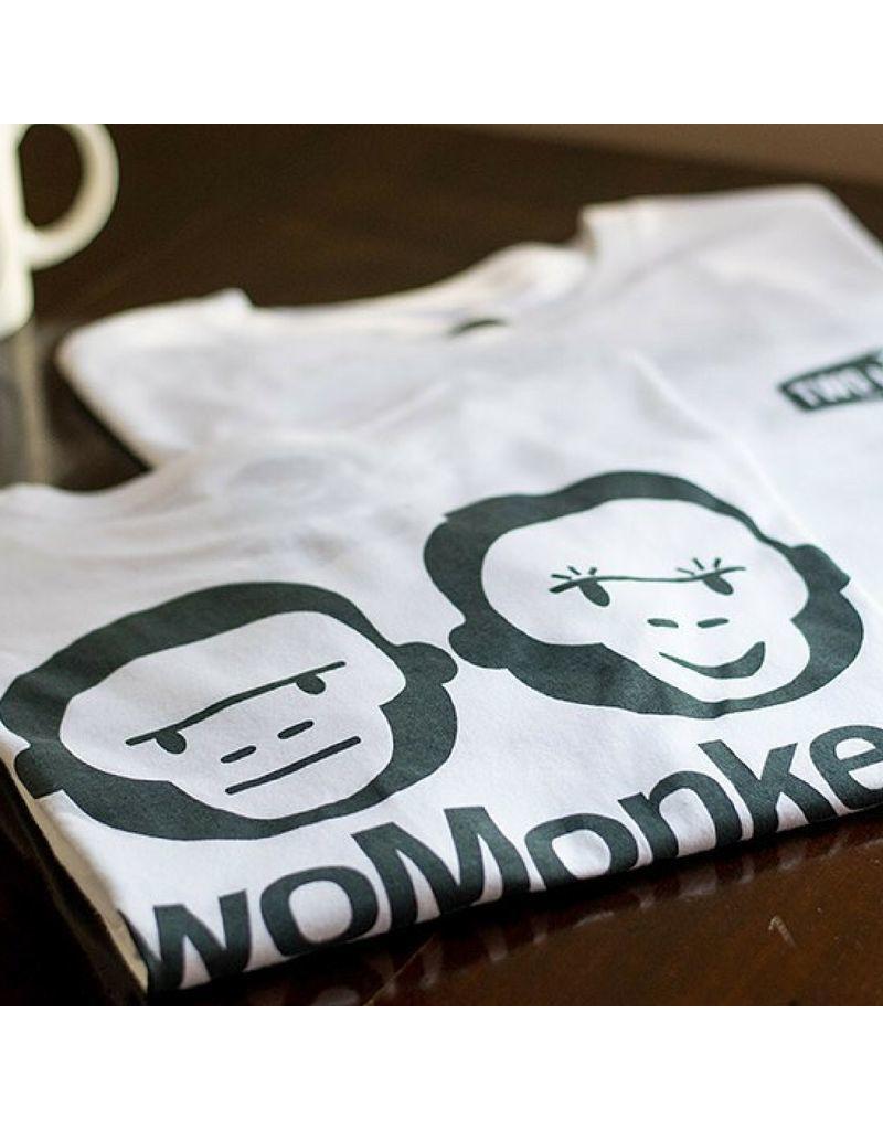 Two Monkeys shop tee - White