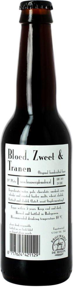 Brouwerij de Molen de Molen Bloed, Zweet & Tranen Smoked Stout
