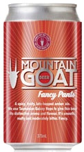 Mountain Goat Mountain Goat Fancy Pants Amber Ale