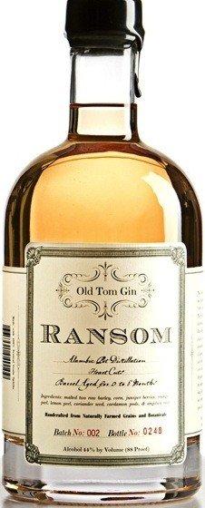 Ransom Spirits Ransom Old Tom Gin