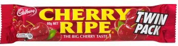 Cadbury Cherry Ripe Twin Pack 80g