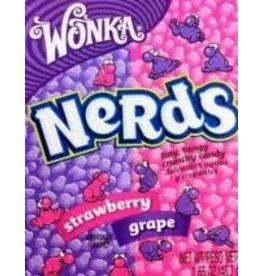 Wonka Wonka Nerds Grape & Strawberry 45g