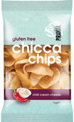 PIRANHA PIRANHA Chicca Chilli Cream Chips 75g