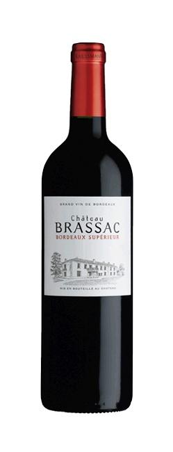 Kressmann Kressmann, Chateau Brassac 2014, Bordeaux Rouge,Bordeaux Superieur AOC, France