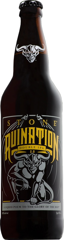 Stone Brewing Stone Ruination double IPA 2.0