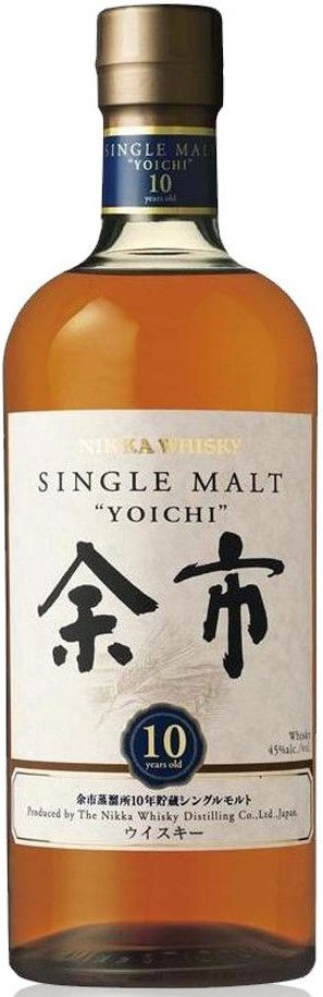 Nikka Whisky Nikka Yoichi 10 Years Old Single Malt Japanese Whisky