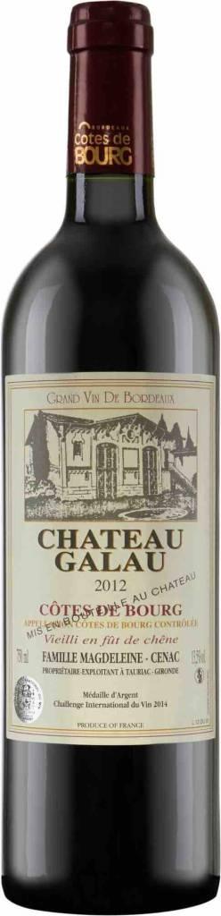 Château Galau Chateau Galau 2013, Bordeaux Rouge, Cotes De Bourg AOC, Bordeaux ,France