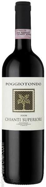 Poggiotondo Poggiotondo - Chianti Superiore 2015, Sangiovese, Tuscany, Italy
