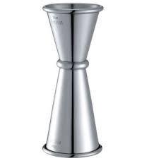 Cocktail Jiggers Silver 30ml-45ml