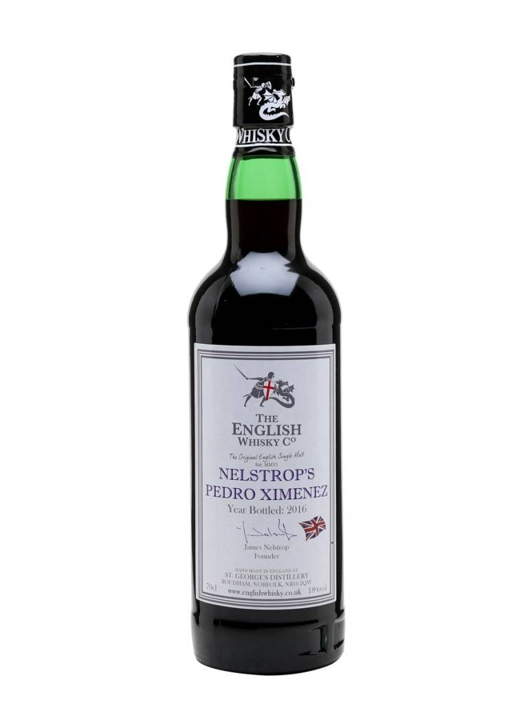 English Whisky Co. English Whisky Nelstrops Pedro Ximenez (PX) 200ml, U.K
