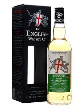 English Whisky Co. English Whisky Peated Single Malt Whisky, U.K