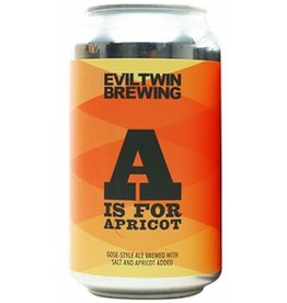 Evil Twin Evil Twin A is for Apricot Gose