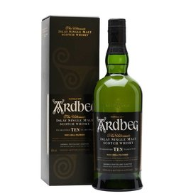 Ardbeg Ardbeg 10 Years Old Single Malt Scotch Whisky, Islay