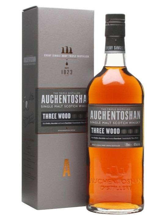 Auchentoshan Auchentoshan Three Wood Single Malt Scotch Whisky, Lowland