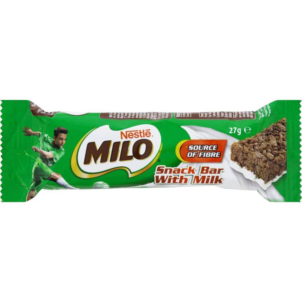 Nestle Milo Snack Bar with milk