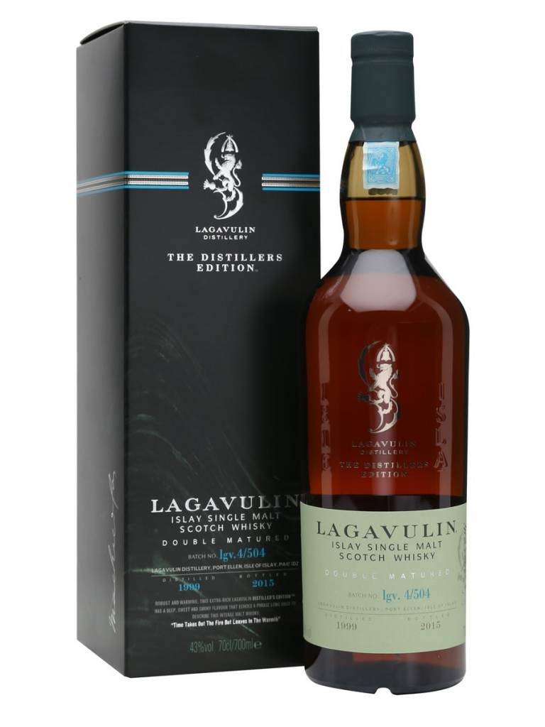 Lagavulin Lagavulin - The Distillers Edition, Single Malt Scotch Whisky, Islay