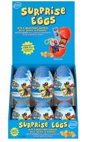 Paw Patrol Paw Patrol Surprise Plastic Egg with Marshmallow 6g