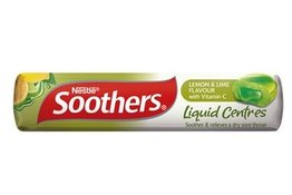 Nestle Soothers Liquid Centres Lemon & Lime Stick 50g