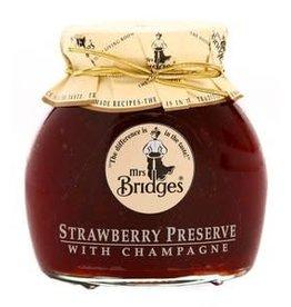Mrs Bridges Strawberry Preserve & Champagne