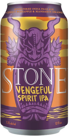 Stone Brewing Stone Vengeful Spirit Unfiltered Tropical IPA