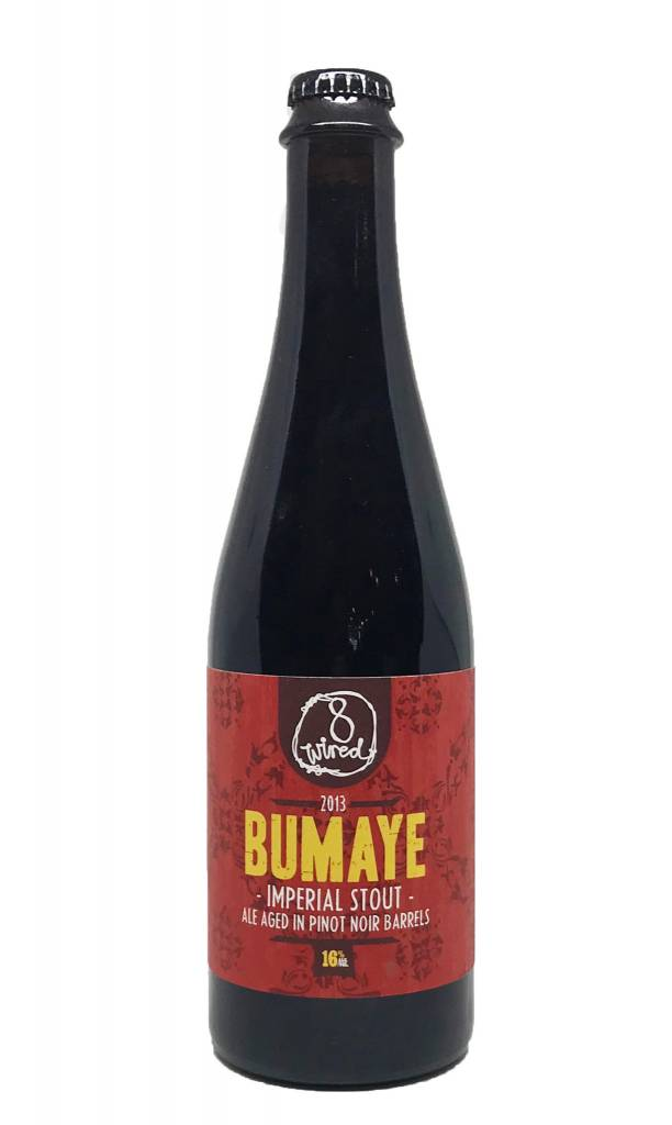8Wired Brewing 8Wired Bumaye 2013 BA Imperial Stout
