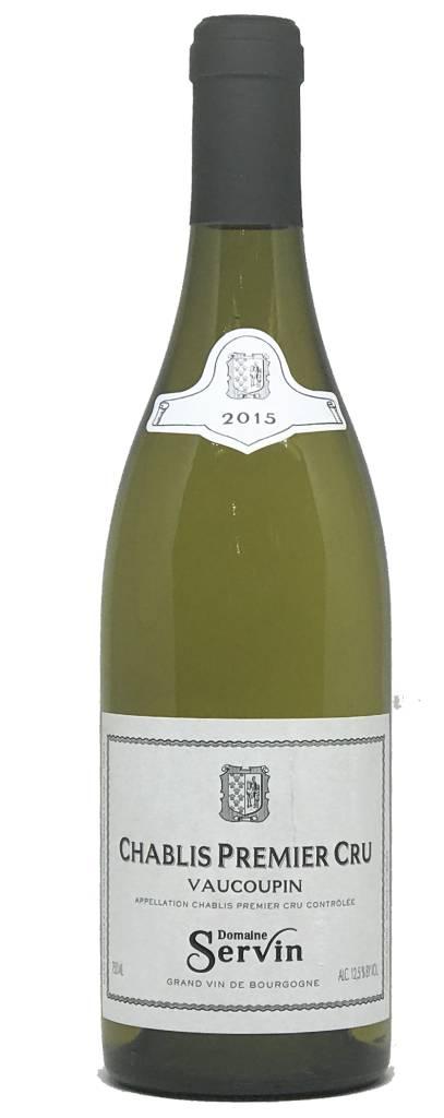"""Domaine Servin Domaine Servin  """"Vaucoupin"""" 2015, Chardonnay, Chablis Premier Cru, Burgundy, France"""