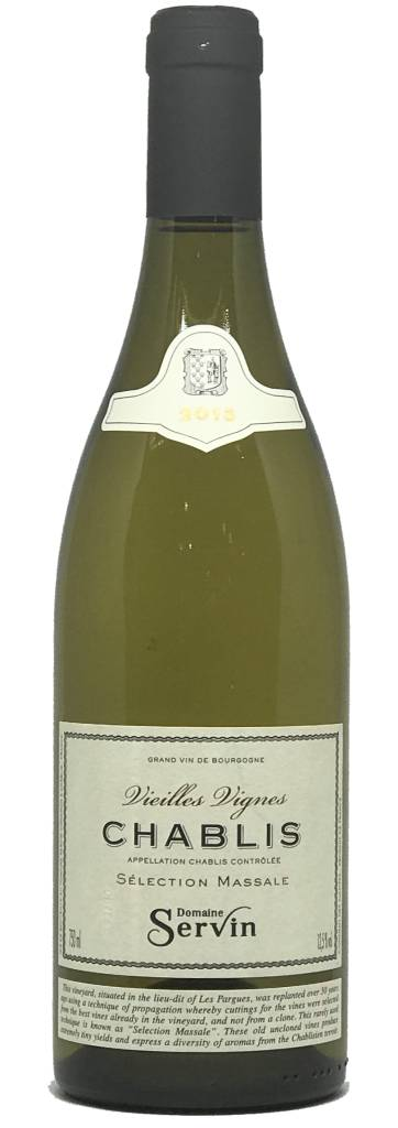 Domaine Servin Domaine Servin Chablis 2015, Vieilles Vignes, selection Massale, Chardonnay, Burgundy, France