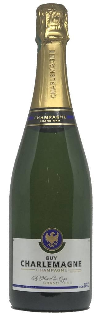 Guy Charlemagne Guy Charlemagne Reserve Brut Grand Cru NV, Blanc de Blancs, Champagne, France