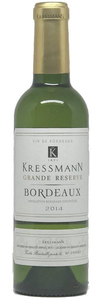 Kressmann Kressman, Grande Reserve Bordeaux Blanc 2014, Bordeaux AOC, France (375ml)