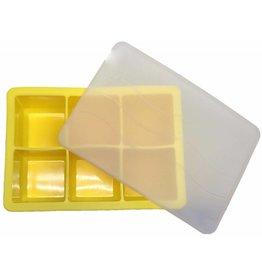 Ice Cube Tray YELLOW 4.8 x 4.8cm