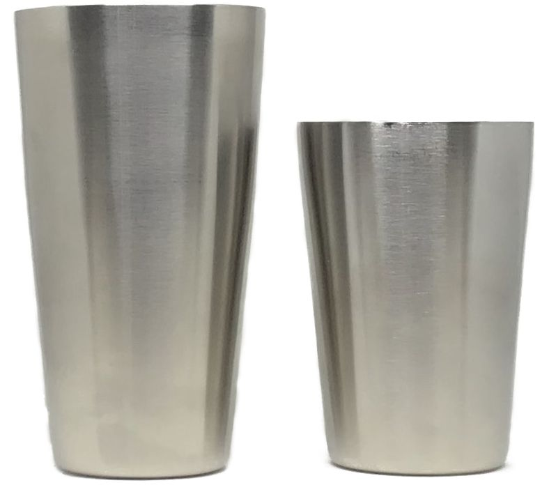 Cocktail Boston Shaker Silver